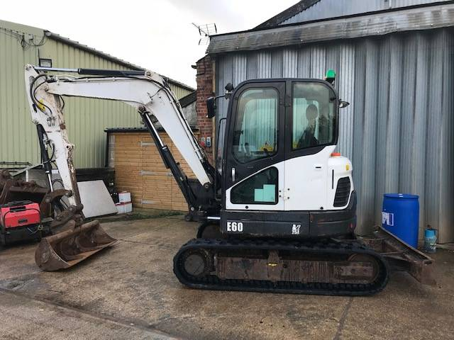 Bobcat E 60, Mini excavators < 7t (Mini diggers), Construction