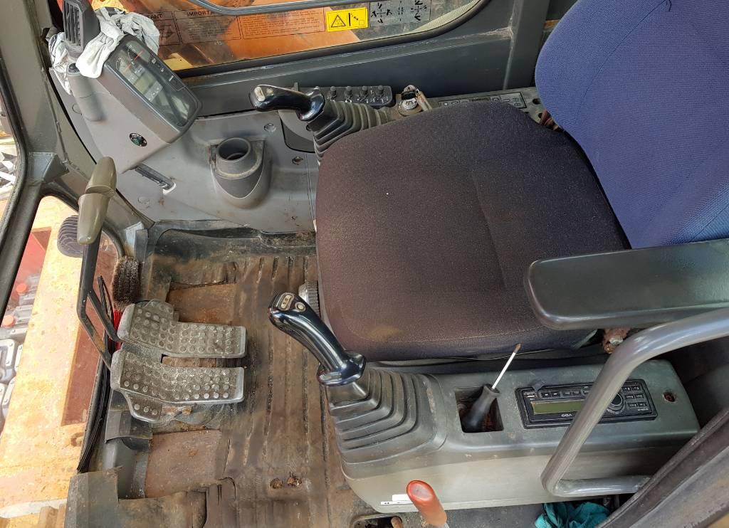 Hitachi ZX850 H Long Reach, Rupsgraafmachines, Bouw