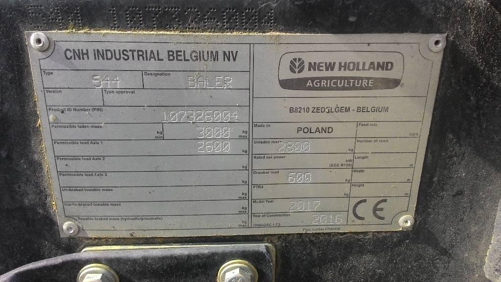 New Holland BR 6090 CropCutter, Ruloonpressid, Põllumajandus