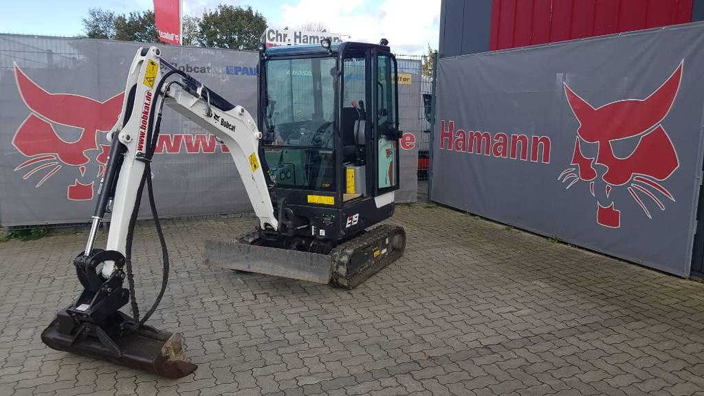 Bobcat E19, Mini digger, Construction Equipment