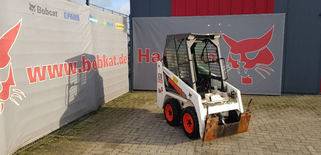 Bobcat S 70, Skid Steer Loaders, Construction Equipment