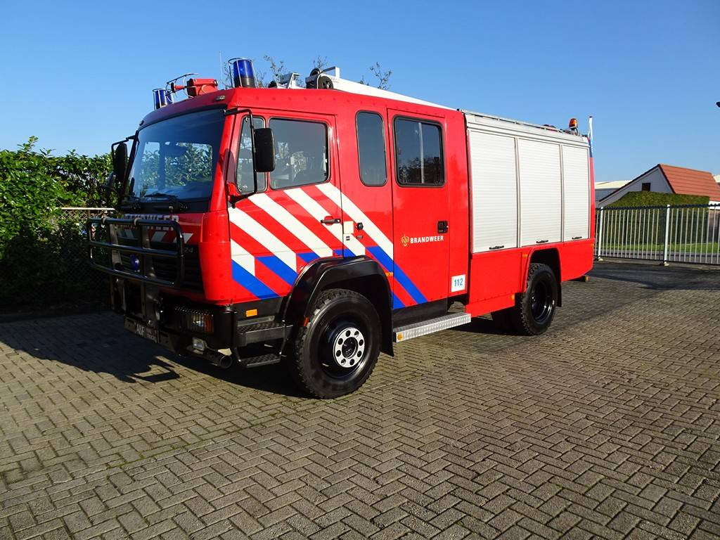 Mercedes Benz 1124 4x4 Rosenbauer, Fire trucks, Transportation