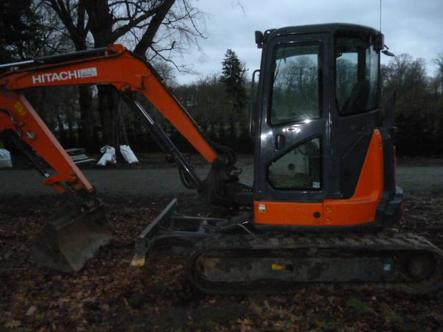 Hitachi ZX 55 U-5 A CLR, Mini excavators < 7t, Construction Equipment