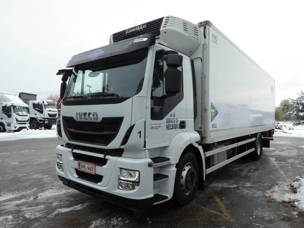 Iveco Stralis AD190, Kylmä-/Lämpökori kuorma-autot, Kuljetuskalusto
