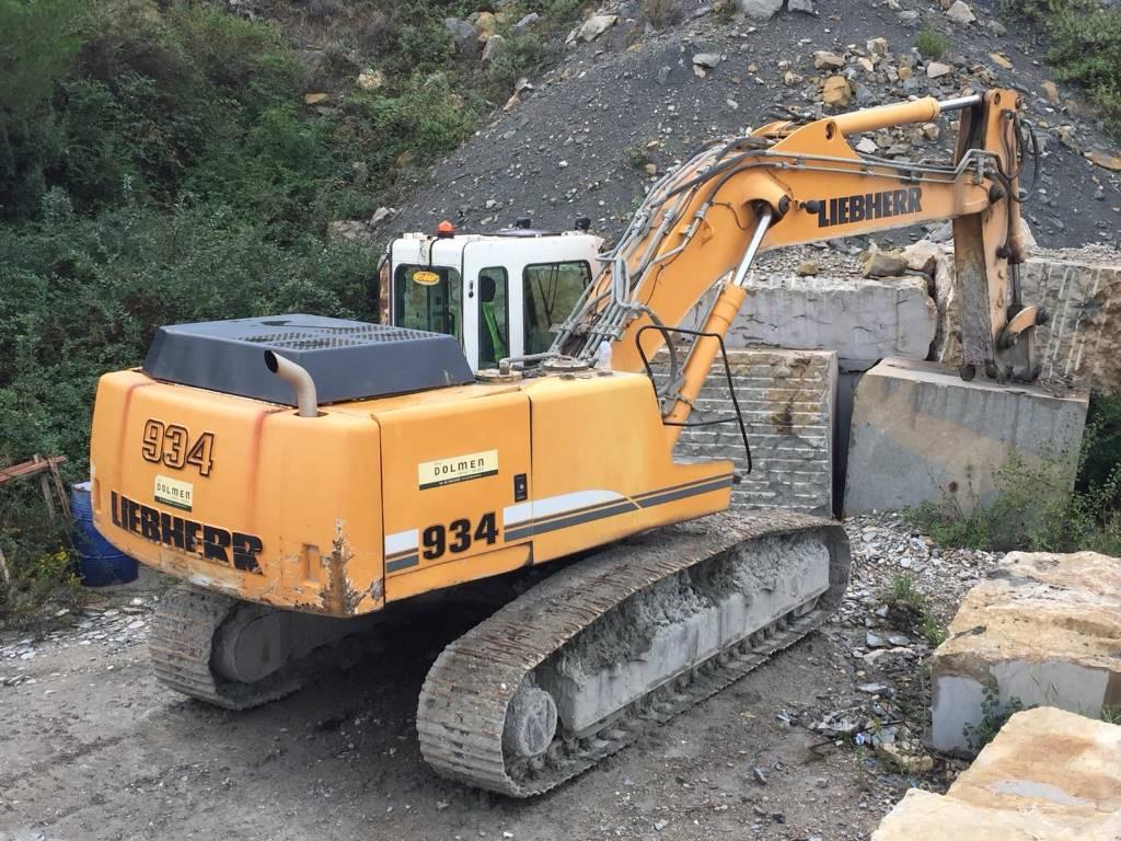 Liebherr R 934 B HD S Litronic, Crawler Excavators, Construction Equipment
