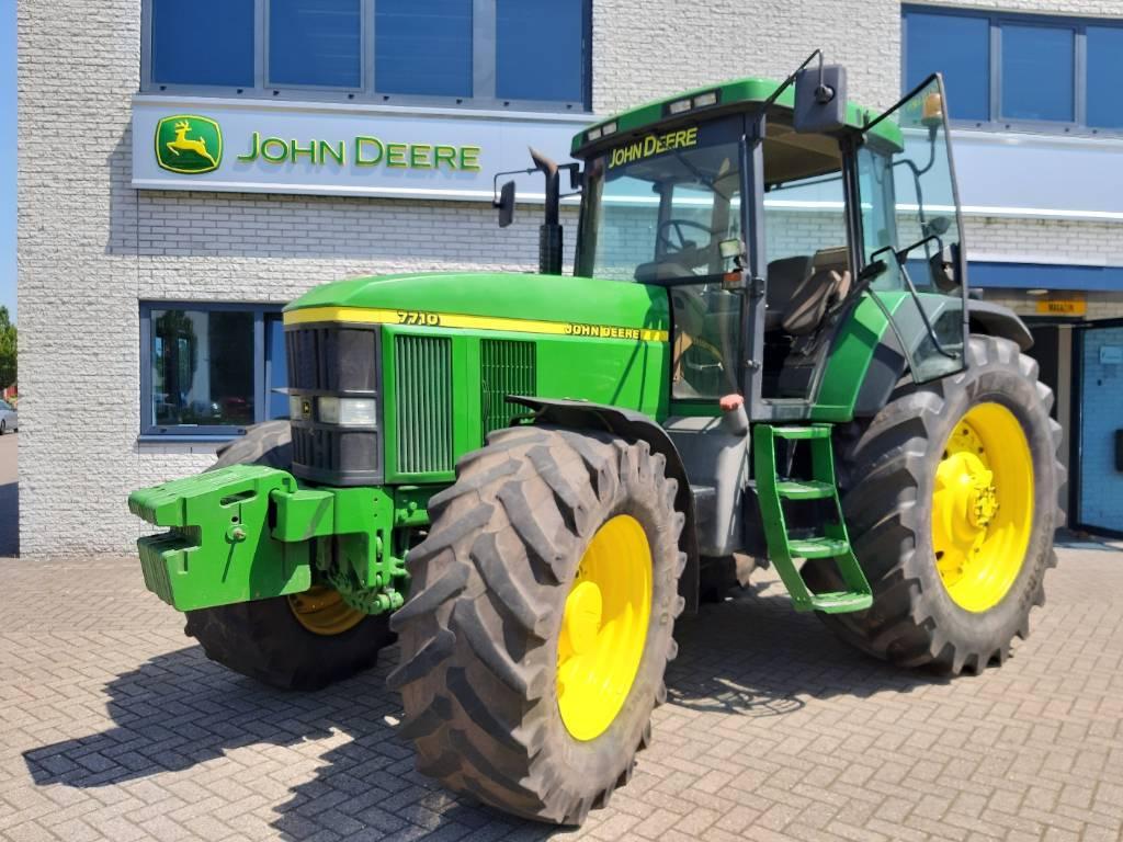 John Deere 7710 PQ, Tractoren, Landbouw