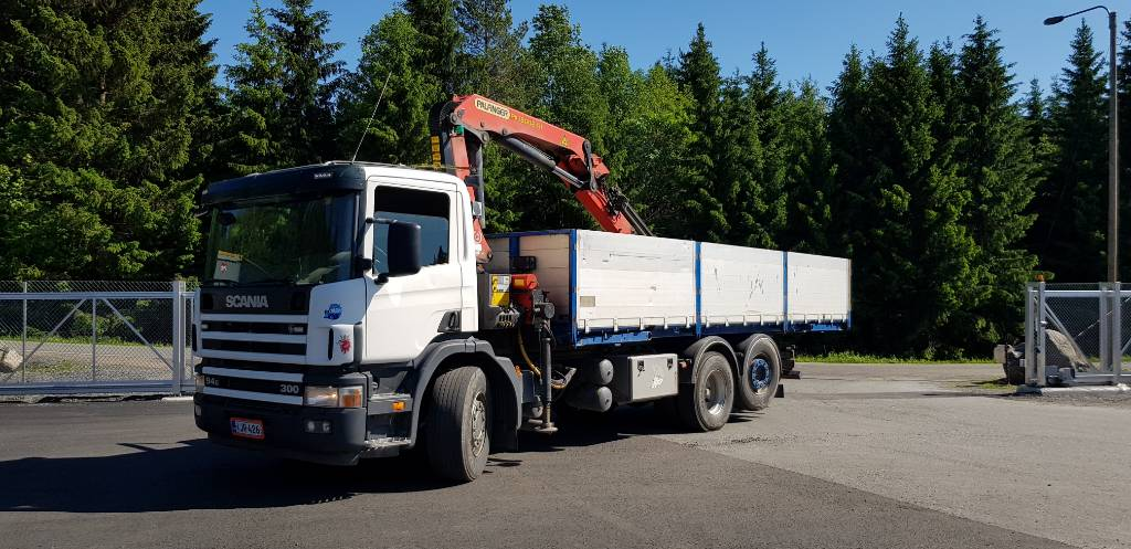 Scania P300, Nosturiautot, Kuljetuskalusto