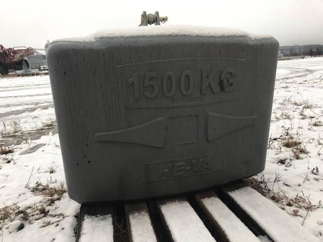 He-Va FRONTVIKTKLOSS 1500 KG, Frontvikter, Lantbruk