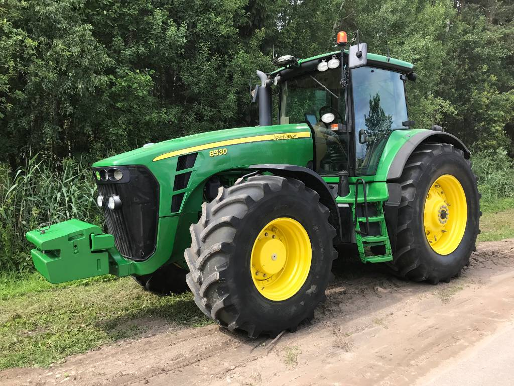 John Deere 8530, Traktorid, Põllumajandus