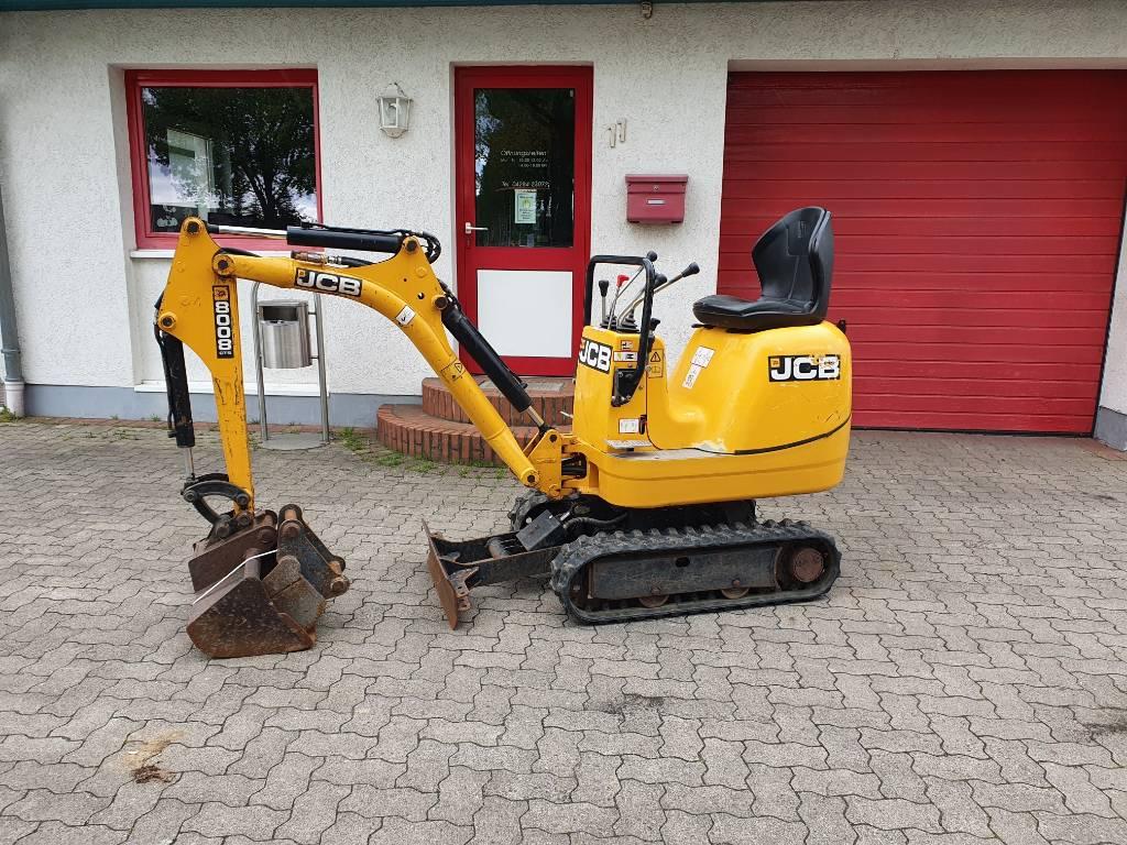 JCB 8008 CTS 1080 std, Minibagger < 7t, Baumaschinen