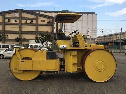 Sakai R2S, Twin drum rollers, Construction