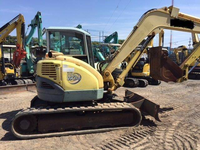 Yanmar ViO70, Mini excavators < 7t (Mini diggers), Construction
