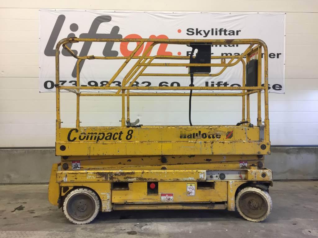 Haulotte Compact 8, Saxliftar, Entreprenad