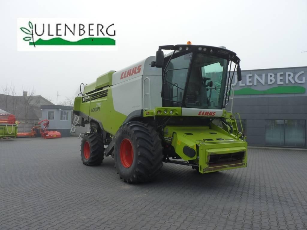 CLAAS Lexion 770+VARIO1080+w.transportowy, Kombajny zbożowe, Maszyny rolnicze