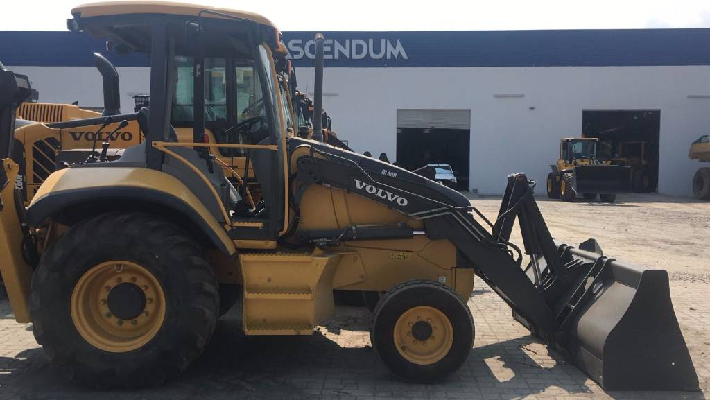 Volvo BL60B, Backhoe Loaders, Construction Equipment