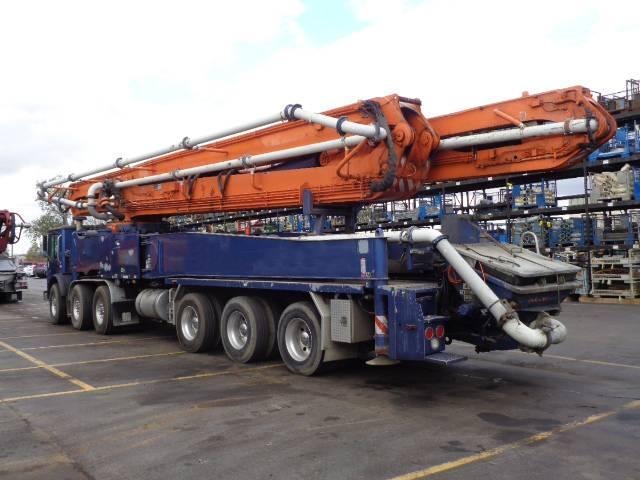 Putzmeister BSF 58.20H, Boom Pumps, Construction Equipment