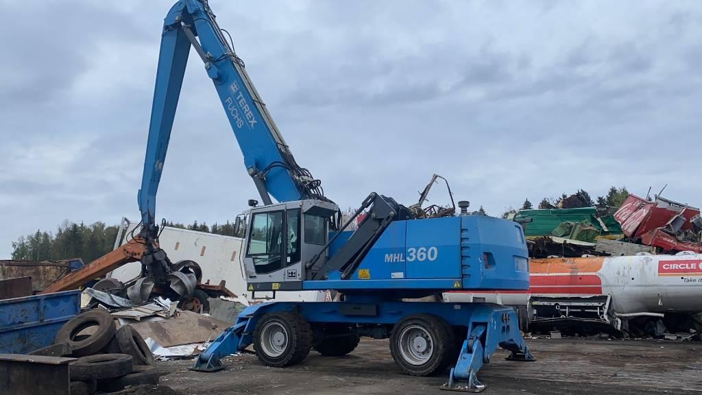 Fuchs MHL 360, Utstyr for avfall sortering, Anlegg