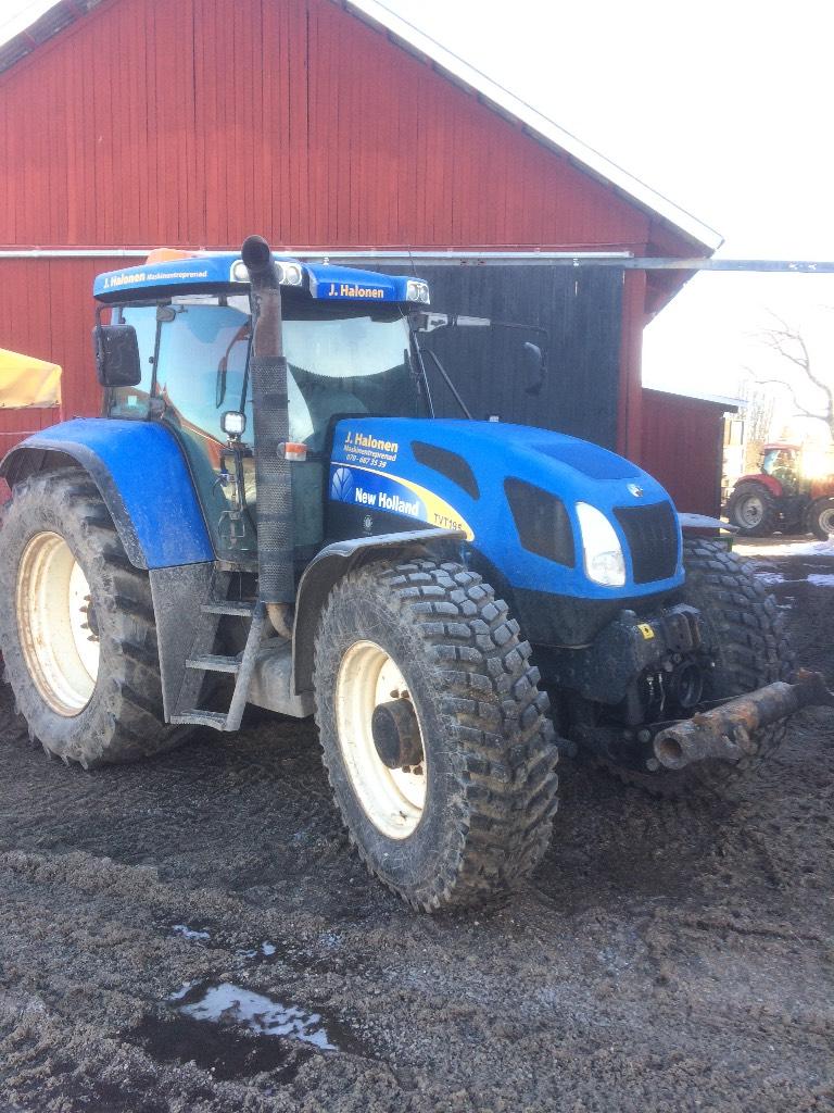 New Holland TVT 195 -06, Traktorer, Lantbruk