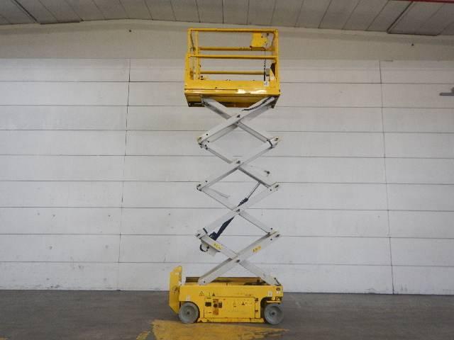 Genie GS1932, Scissor lifts, Construction