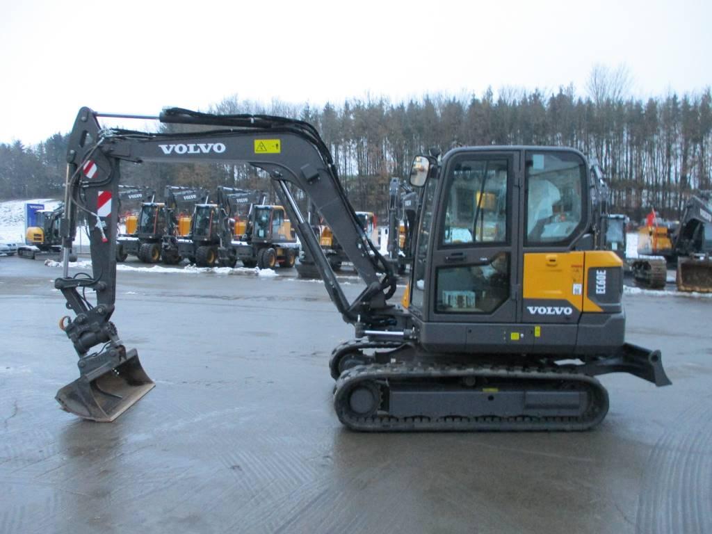 Volvo EC60E, Mini excavators  7t - 12t, Construction Equipment