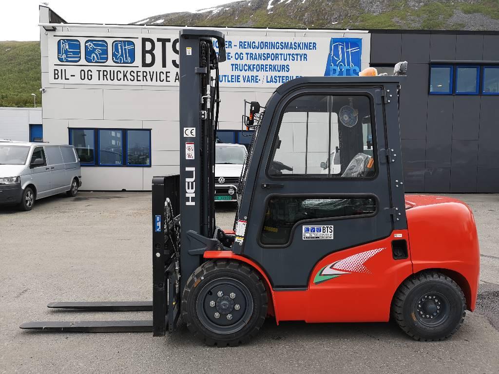 Heli CPCD35 (G2) - 3,5 t diesel - 5,4 m LH (SOLGT), Diesel Trucker, Truck