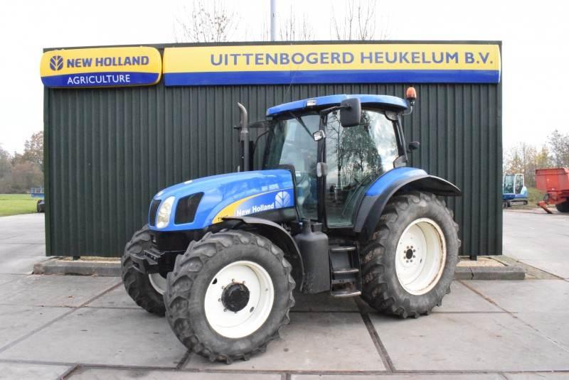 New Holland TS115A, Tractoren, Landbouw