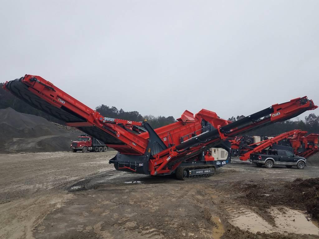 Sandvik QE341, Screeners, Construction Equipment