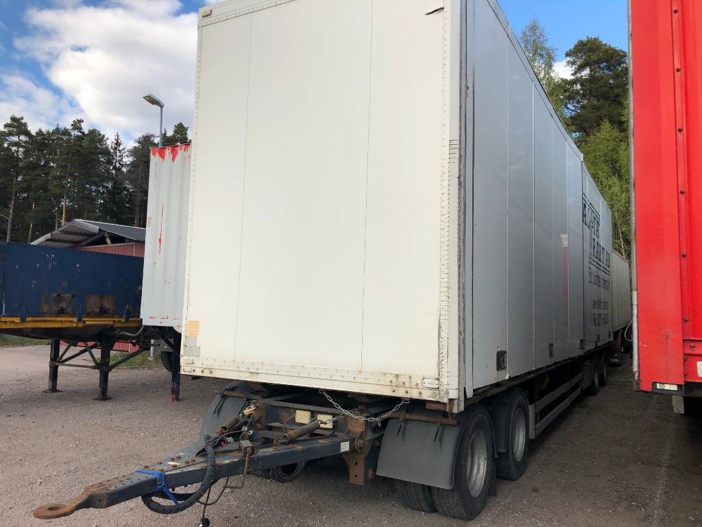 Schmitz 4-axl skåpvagn, Skåpsläp, Transportfordon