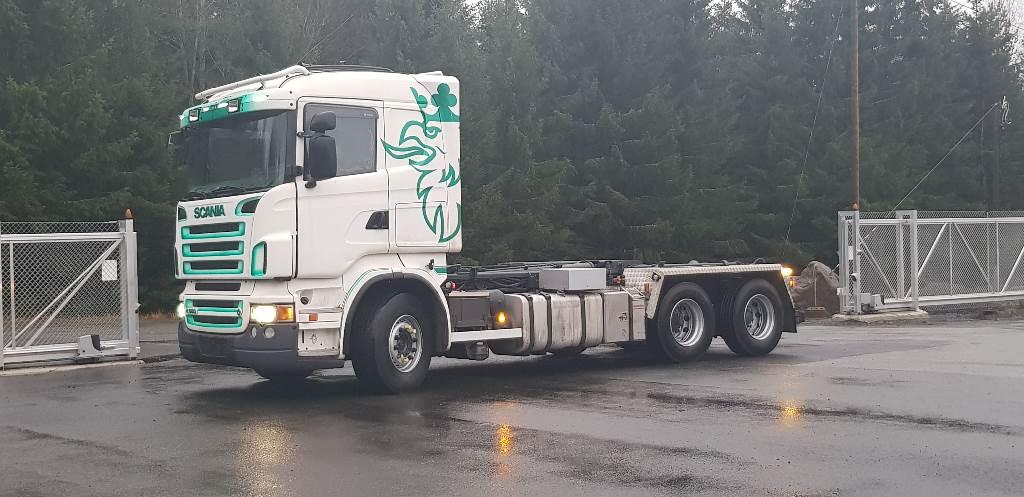 Scania R 560 LB, Koukkulava kuorma-autot, Kuljetuskalusto