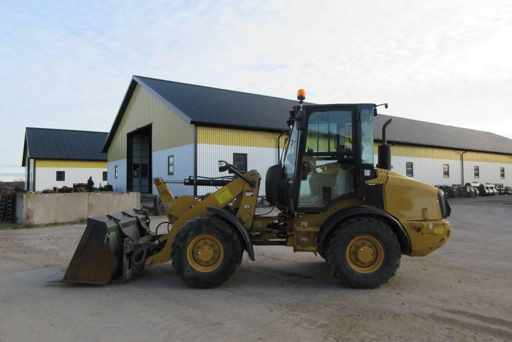 Caterpillar 907H lastmaskin, snabbgående, BSS, Hjullastare, Entreprenad