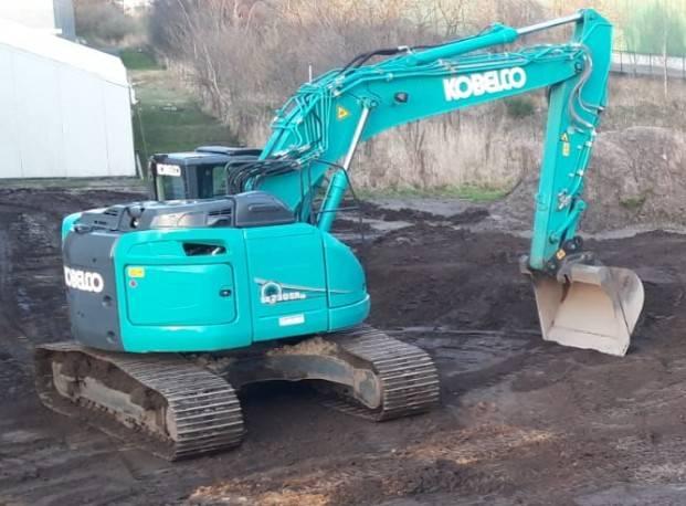 Kobelco SK 230 SR, Crawler Excavators, Construction