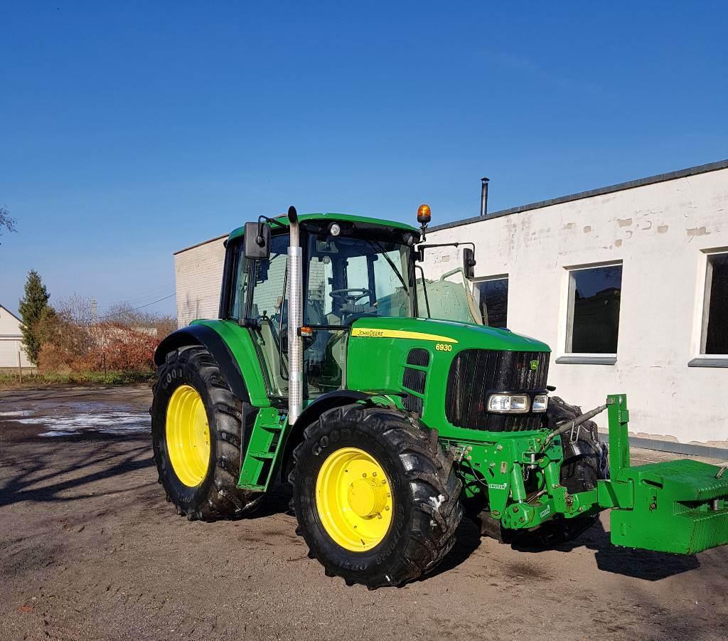 John Deere 6930, Traktoriai, Žemės ūkis