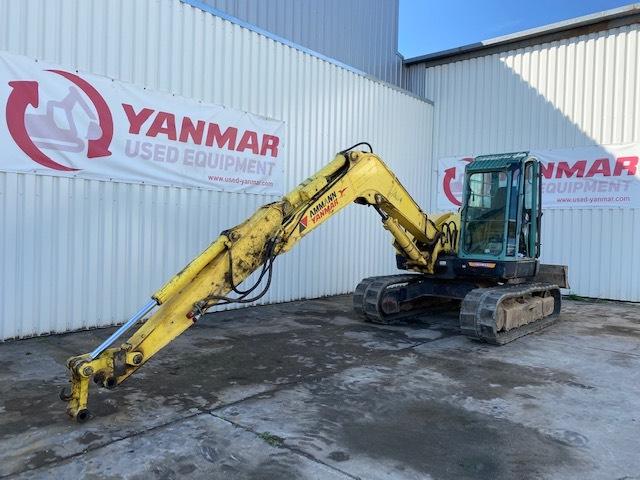 Yanmar Sv100, Midi excavators, Construction Equipment