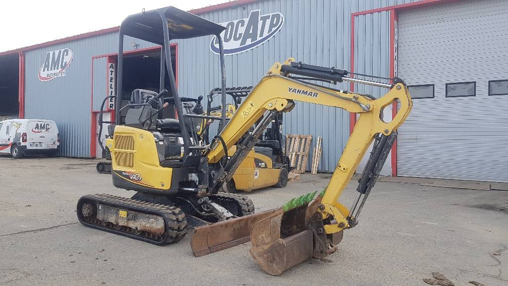 Yanmar VIO17U, Mini excavators < 7t (Mini diggers), Construction