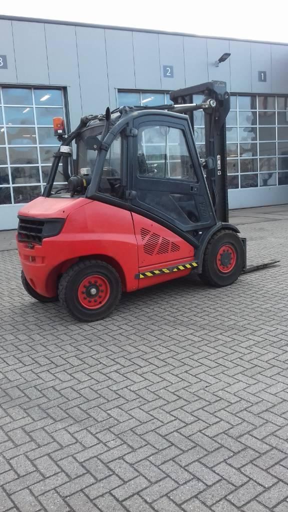 Linde H50D, Diesel heftrucks, Laden en lossen