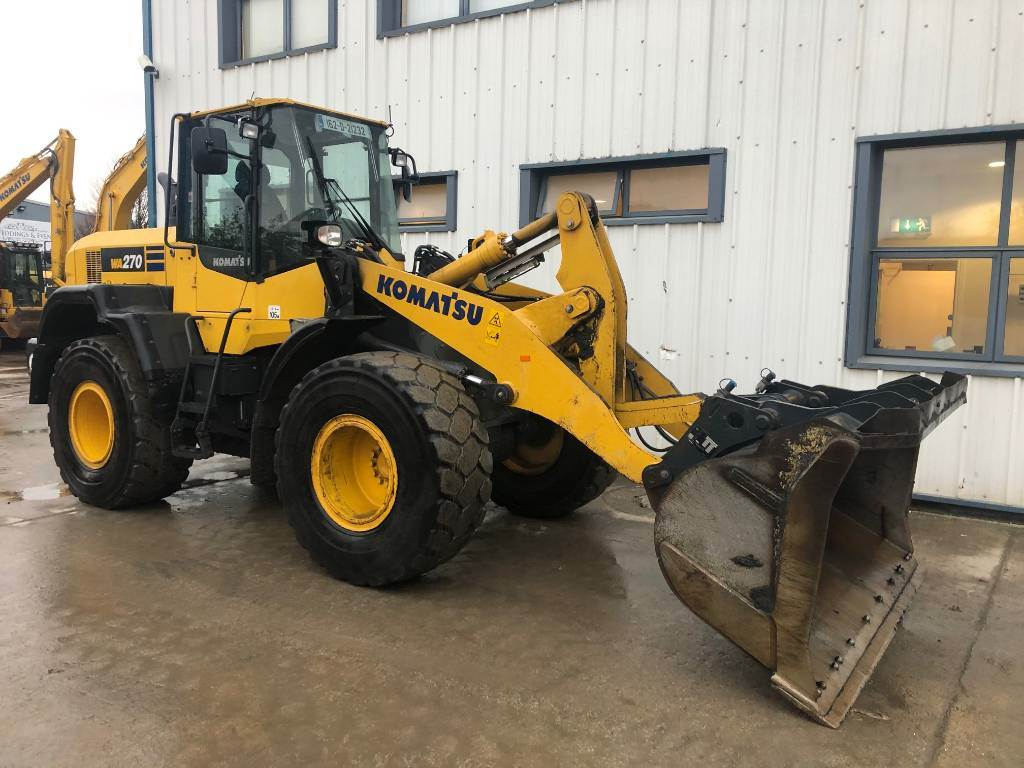 Komatsu WA270-7, Wheel Loaders, Construction Equipment