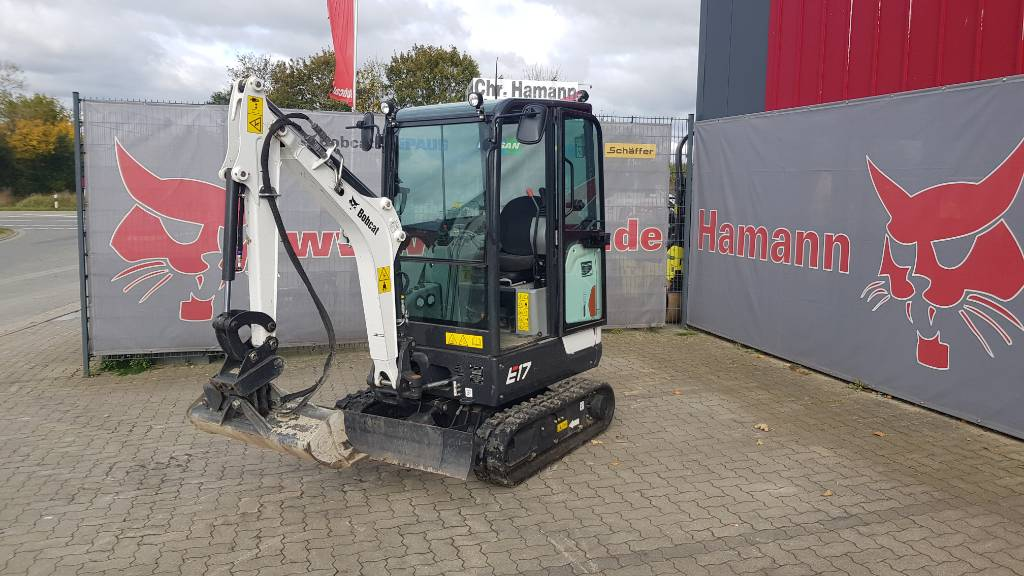 Bobcat E17, Mini digger, Construction Equipment