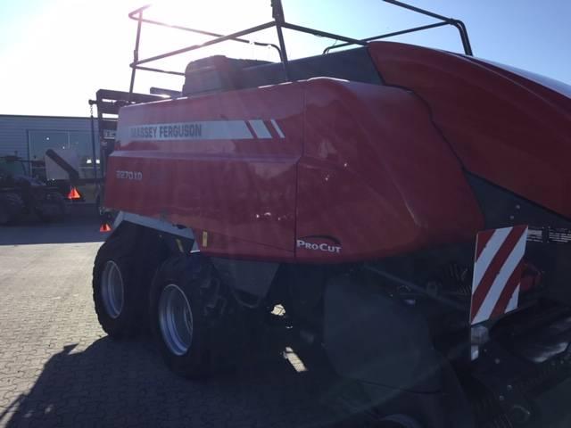 Massey Ferguson 2270 XD, Fyrkantspressar, Lantbruk
