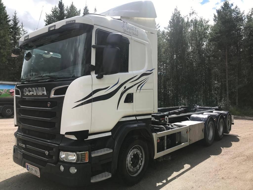 Scania R 730, Koukkulava kuorma-autot, Kuljetuskalusto