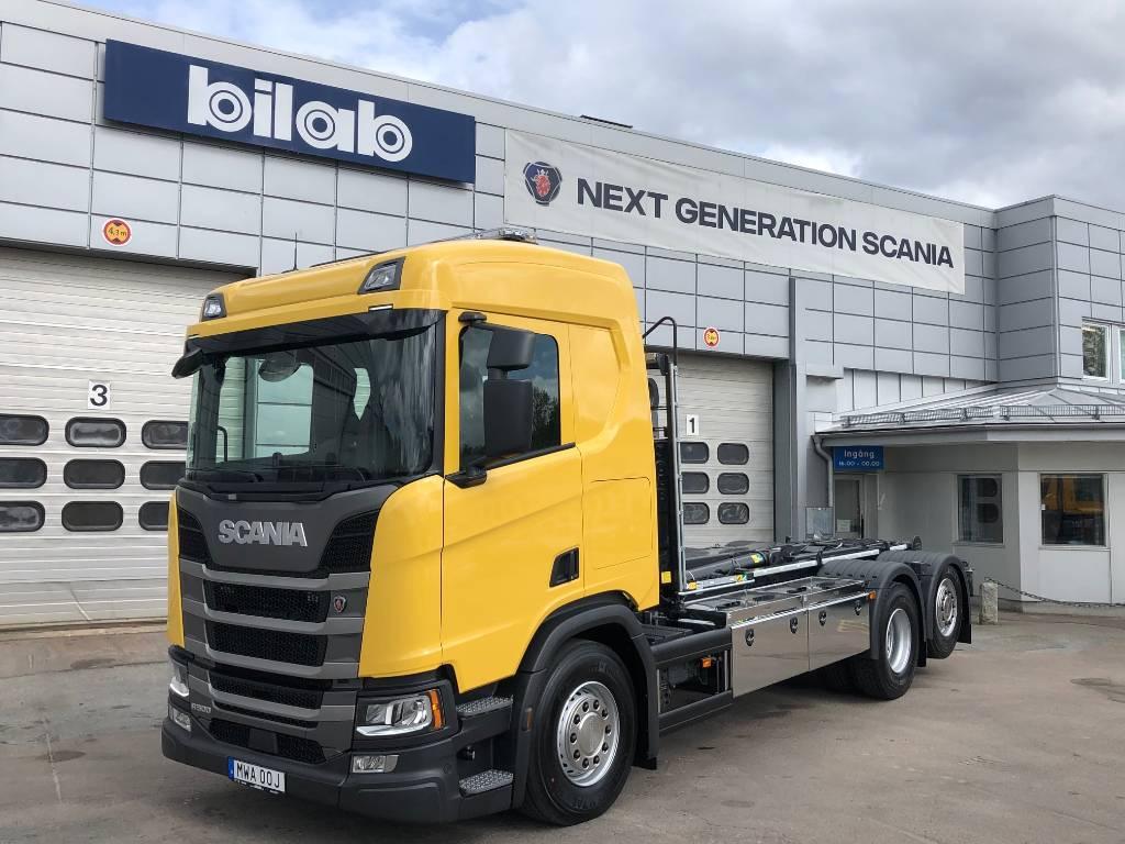Scania R 500 6X2 JOAB, Lastväxlare/Krokbilar, Transportfordon
