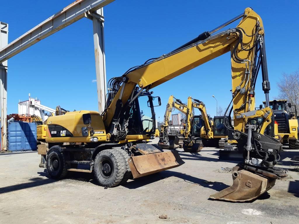 Caterpillar M 315 D, Hjulgrävare, Entreprenad