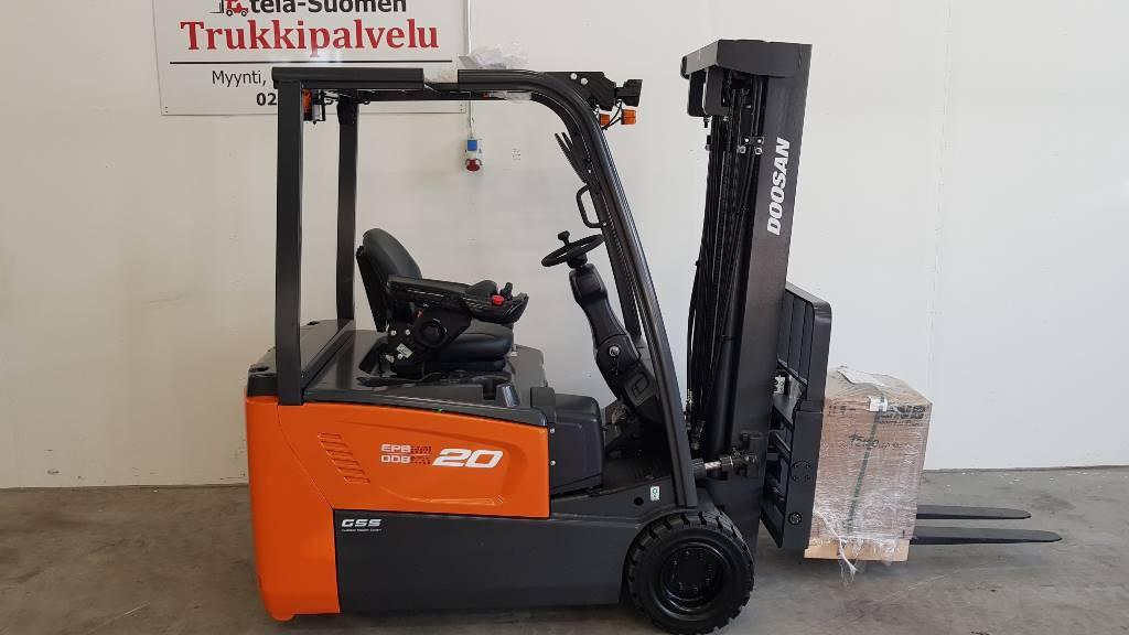 Doosan B20T-7 (Vuokralla), Sähkötrukit, Materiaalinkäsittely