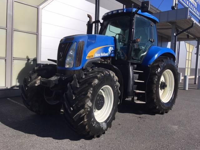 New Holland T8030-4, Traktorit, Maatalouskoneet
