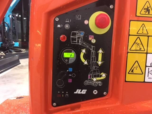 JLG Toucan 10 E, Personenliften en invalideliften, Bouw