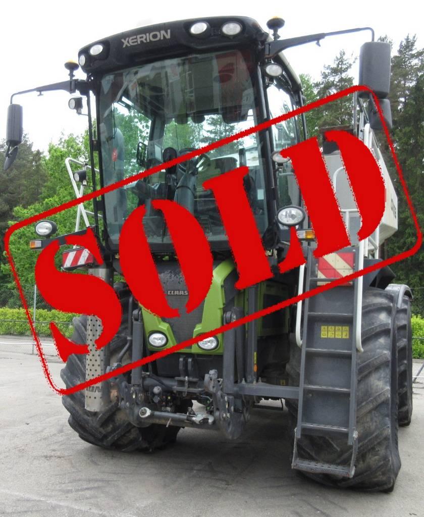 CLAAS XERION 3800 Saddle Truck, Traktorid, Põllumajandus