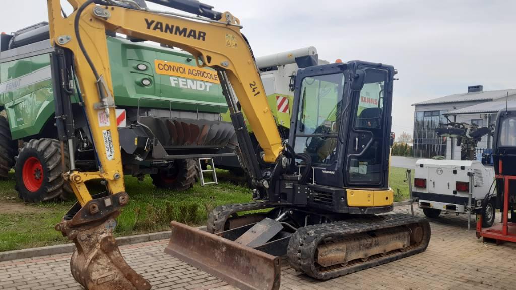 Yanmar Vio 50, Koparki gąsienicowe, Maszyny budowlane