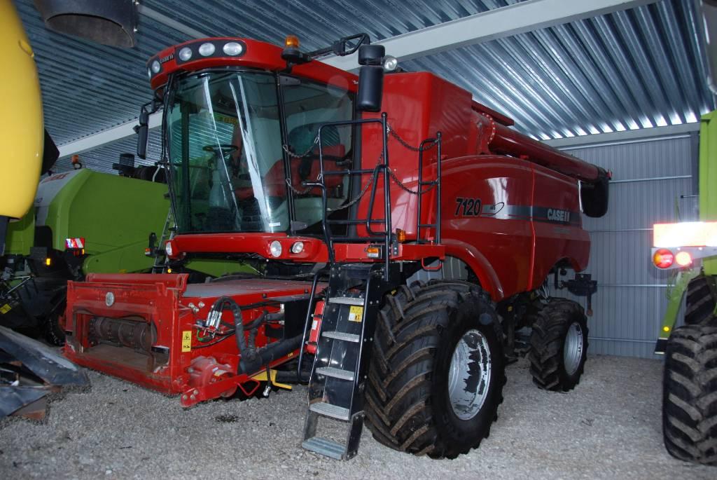 Case IH 7120, Kombainid, Põllumajandus