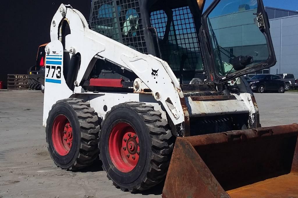 Bobcat 773, Lietoti riteņu kompaktiekrāvēji, Būvtehnika
