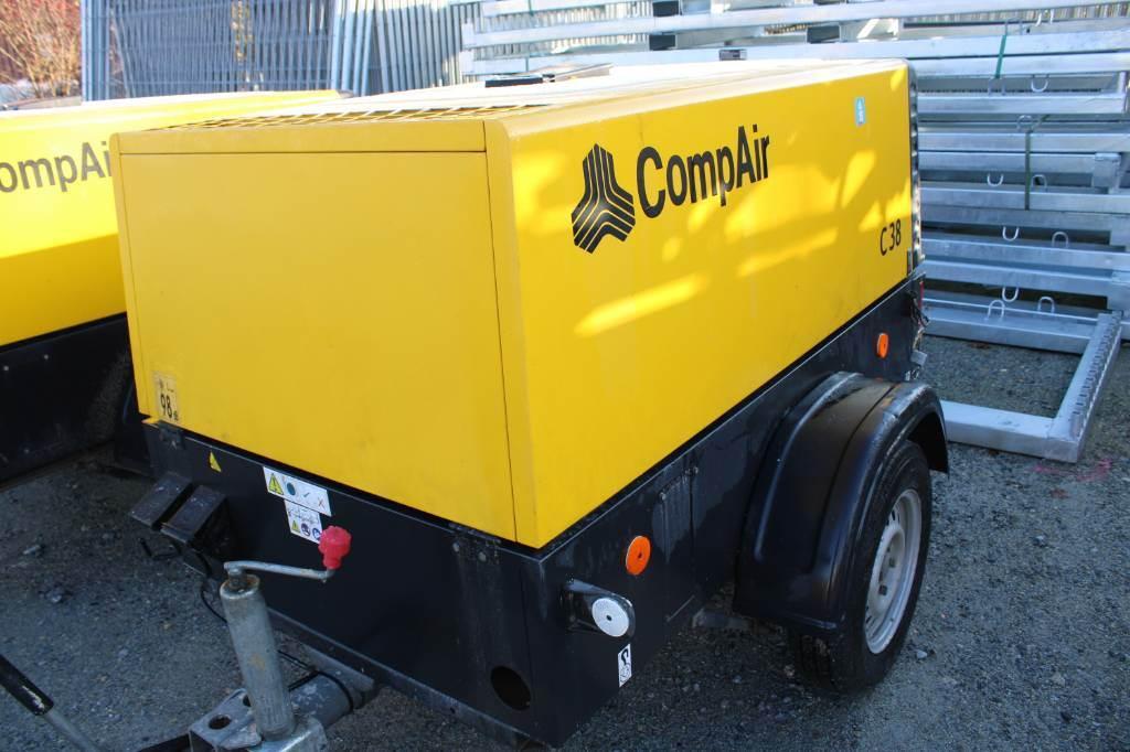 Compair C38 mit DPF, Kompressoren, Baumaschinen