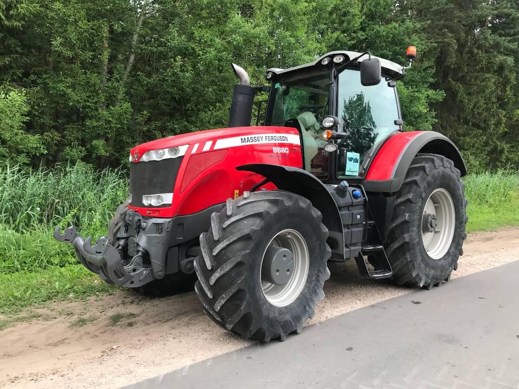 Massey Ferguson 8680 Dyna VT, Traktoriai, Žemės ūkis